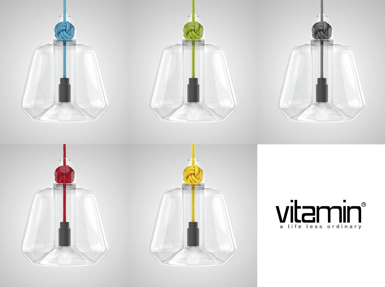 Lampada Knot Pendant - Large Vitamin Acquista Online su HIDESIGN.it