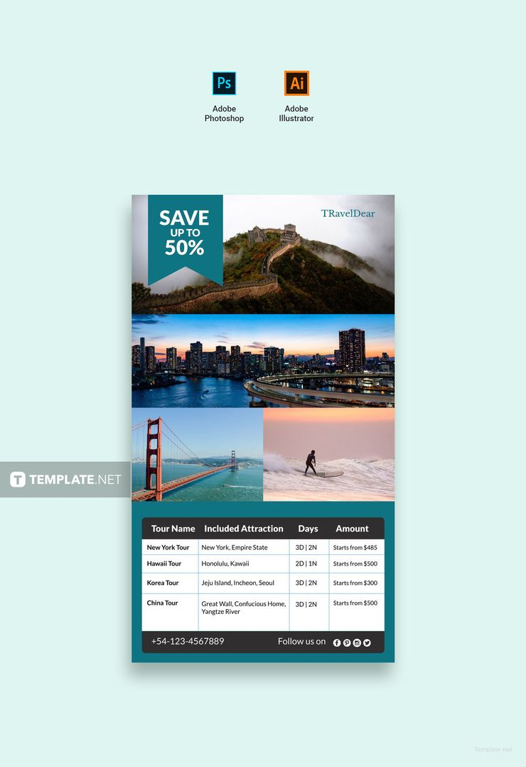 free travel deals digital signage free designs pinterest