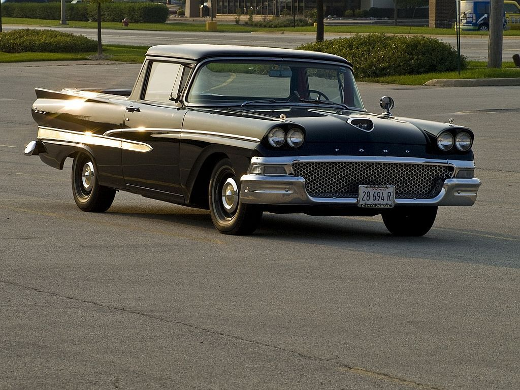 1958 ford ranchero if i wasn t saving and using my money to travel