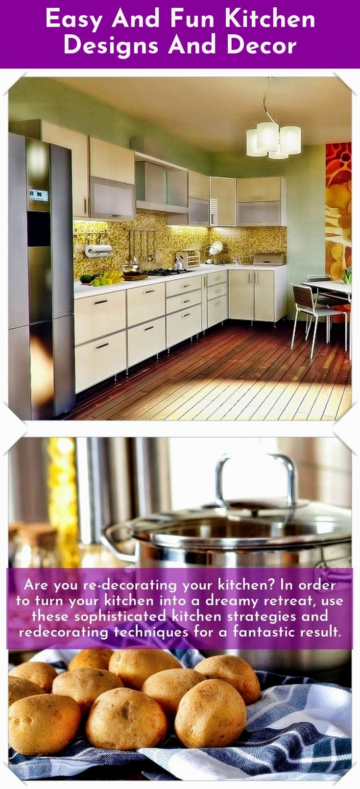 Easy and fun kitchen design and decor ideas are you redecorating