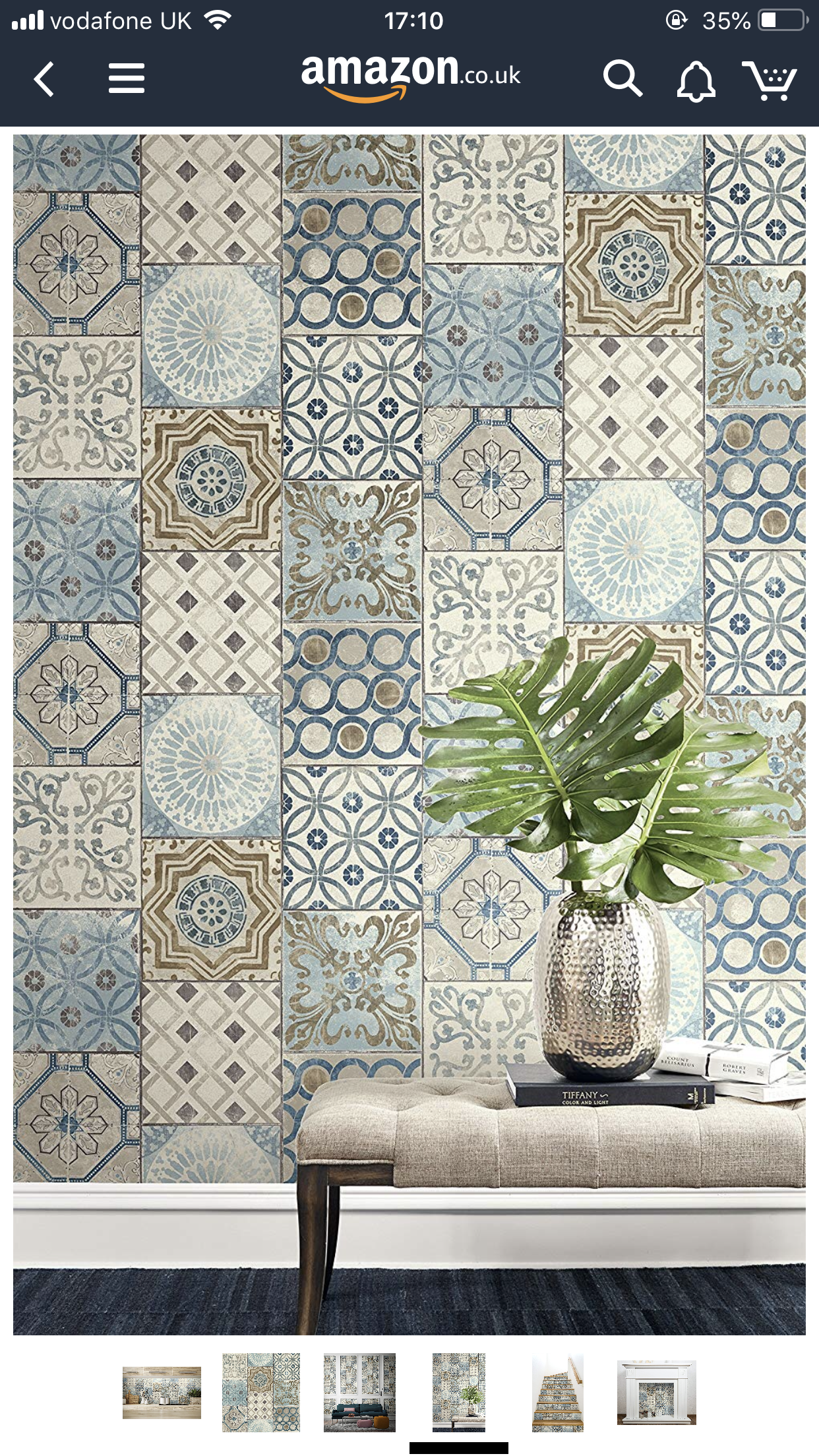 Pin By Michaela Brodbeck On 9 Maple Mosaic Wallpaper Spanish Style Bathrooms Moroccan Home Decor