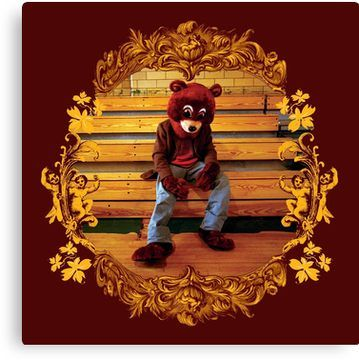 The College Dropout Canvas Print By Jeanheretique Kanye West Albums Hip Hop Albums Rap Albums