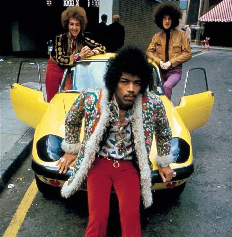 Jimi Hendrix Music legend CROSSTOWN TRAFFIC Ladies 1960/'s retroT-Shirt