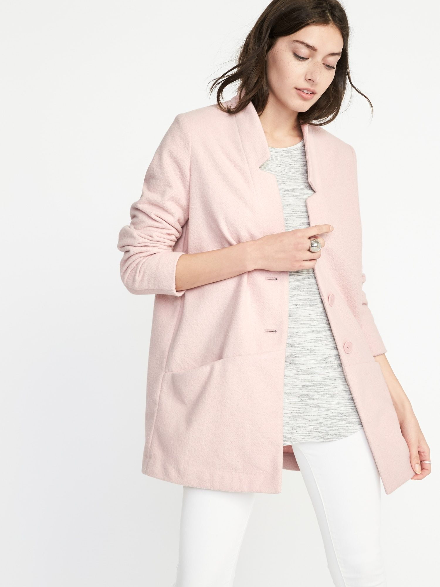 45 Affordable Pink Everyday Coat For Women Transition Outfits Spring Transition Outfit Women Outerwear Jacket [ 2000 x 1500 Pixel ]