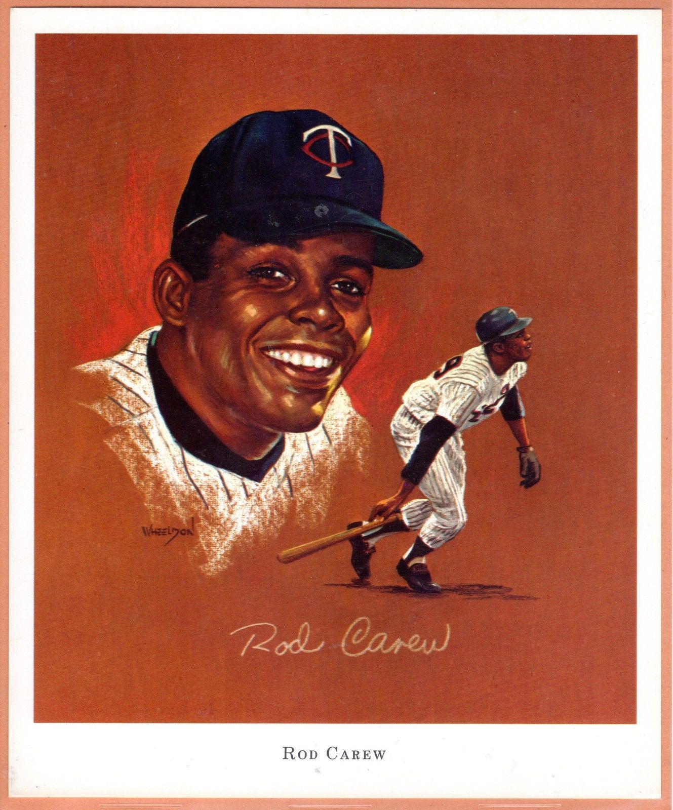 5824c80ea0e Details about 1970 MINNESOTA Twins Super Valu SET 12 12 ROD CAREW ...