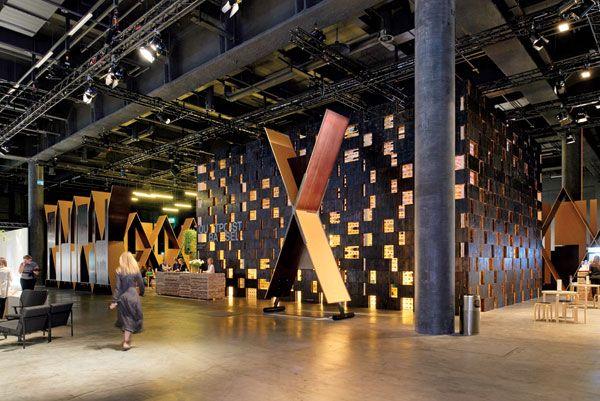 Olson Kundig's Outpost Basel at Design Miami/Basel #interiordesign #interiordesignmagazine #art #installations #OlsonKundig