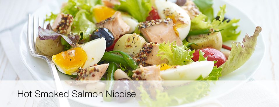 hot smoked salmon nicoise  cooking recipes health