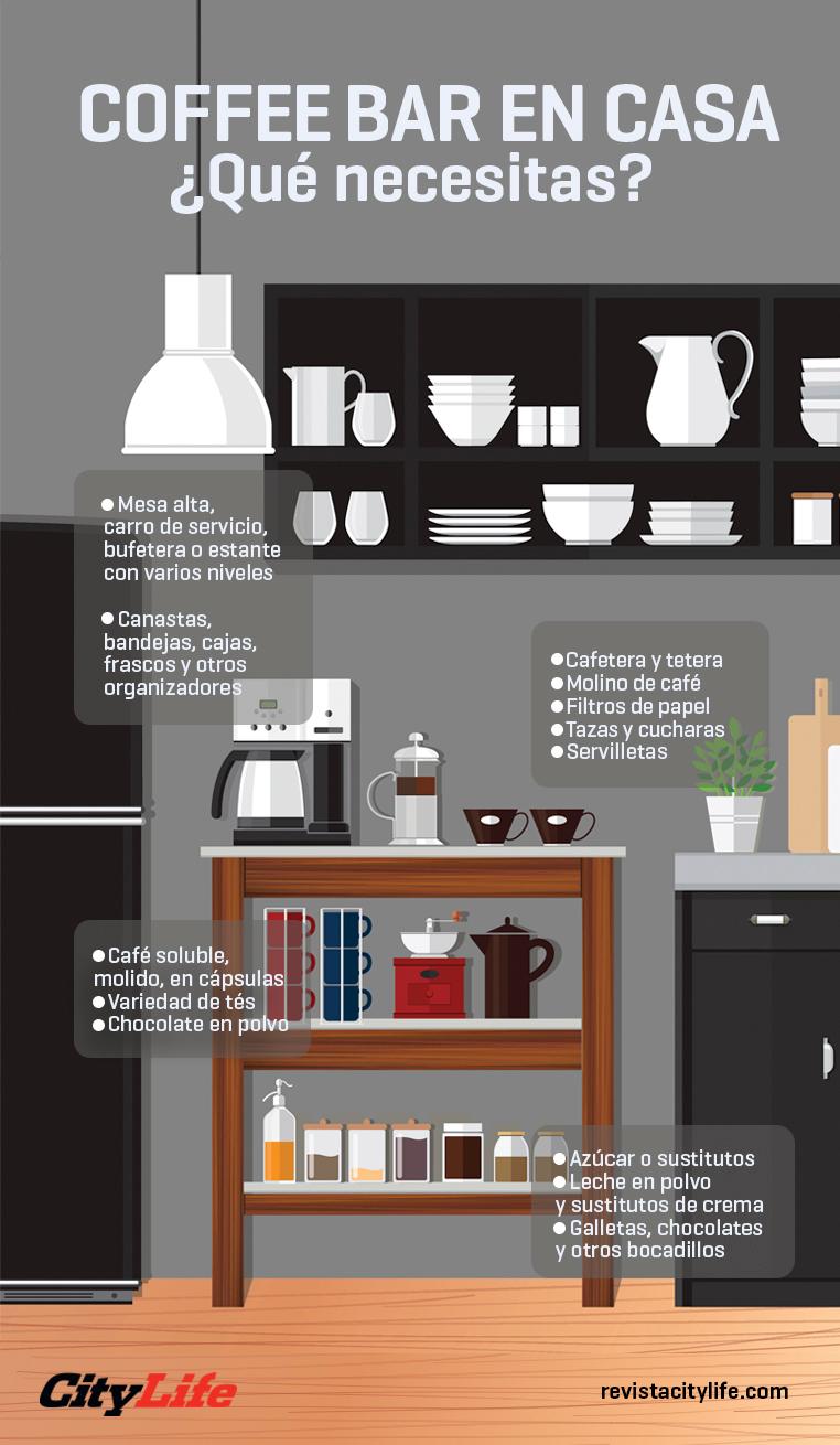 Coffee station en casa