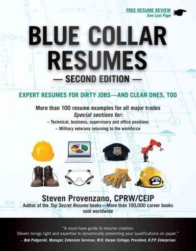 Blue Collar Resumes Things Pinterest Reference letter