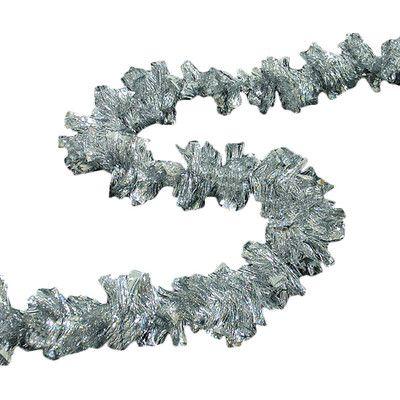 Northlight Holographic Boa Christmas Tinsel Garland Color: Shiny Silver