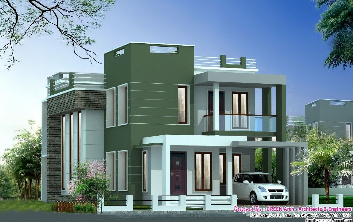 15 Awesome Indian Home Design Plans With Photos Indian Home Design Plans With Photos Elegant Duplex House Design Model House Plan Small House Elevation Design