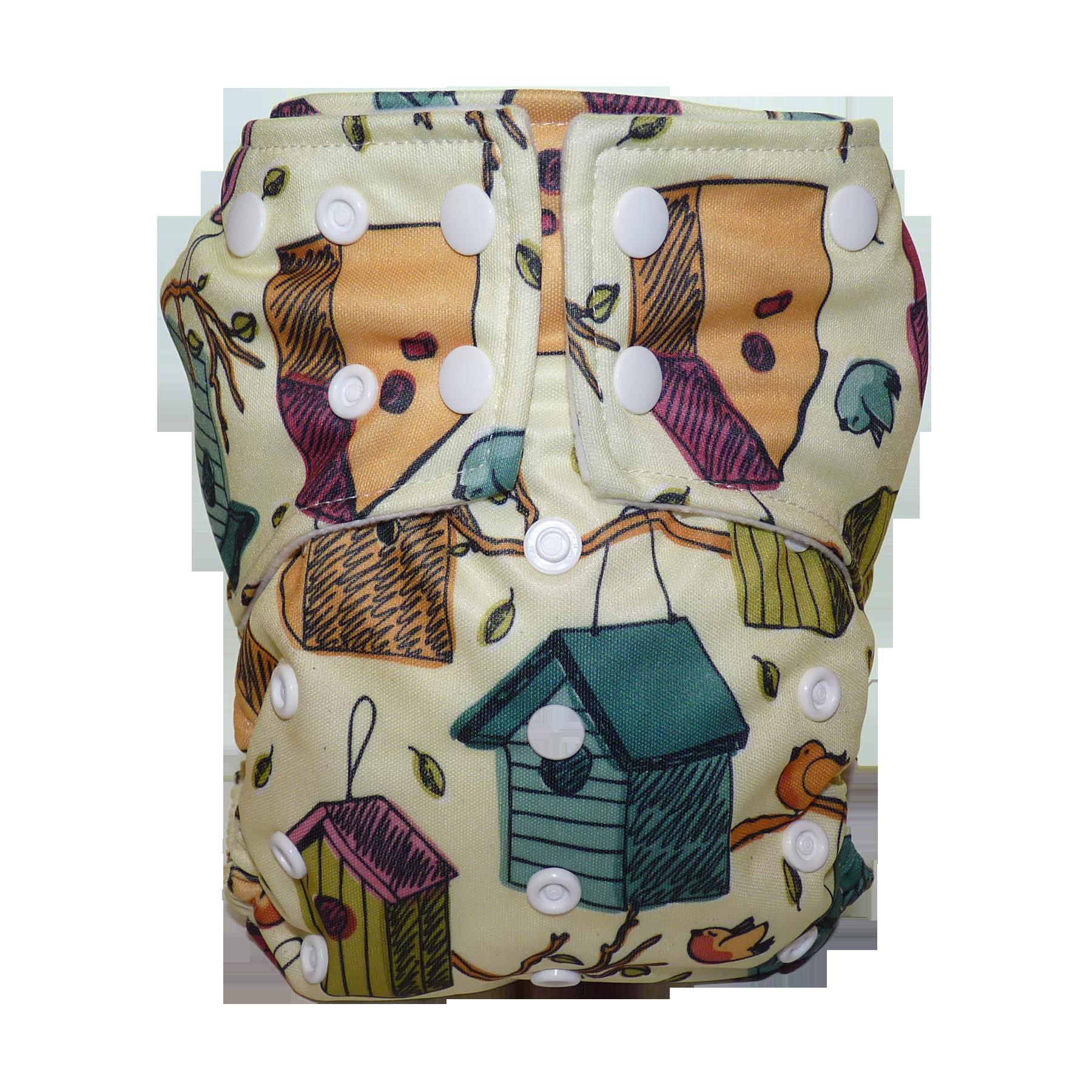 Olibaba All-in-two mosható pelenka velúr textil belső anyaggal G2in1-S DP 62