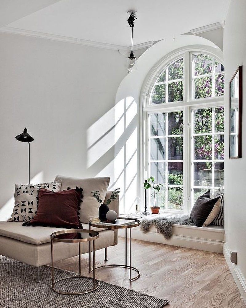 Window love! A stunning room styled by @by_boninterior for ...