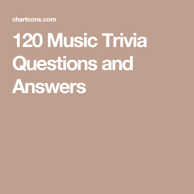 120 Music Trivia Questions and Answers | Christmas trivia ...