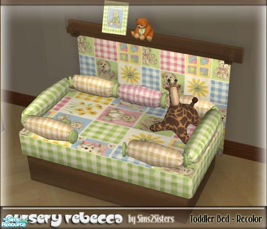 Sims2sisters Toddler Bed Recolor Sims 2 Furniture