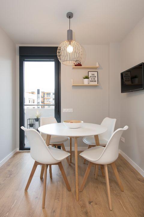 Cómo se adaptó este piso de obra nueva para una joven pareja