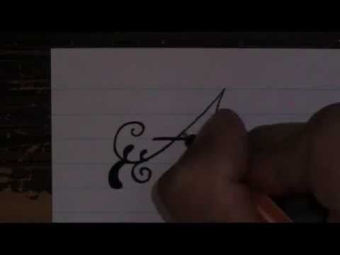 Fancy letters how to write fancy letters for beginners new