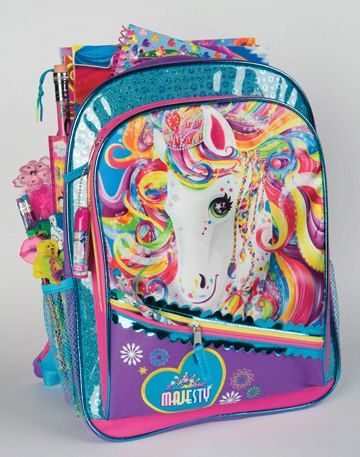 cb4ca506db35 LF announced on fb  Lisa Frank backpacks will be back at Toys R Us!  Available at the end of February!