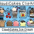 ClaudiCakes Ice Cream Clip Art TPT