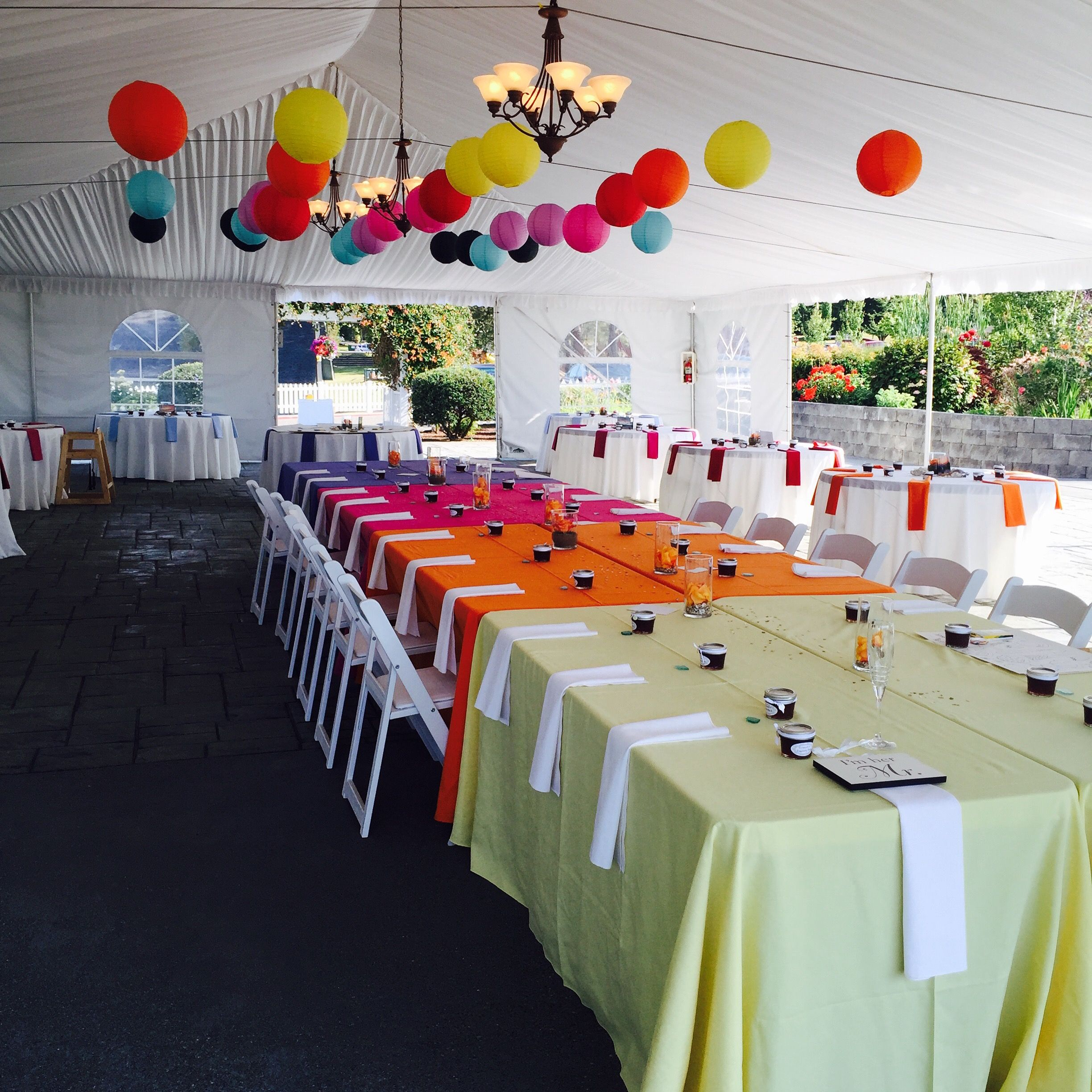 #portgamble #snuffinscatering #sunsetcolors # catering #weddingcatering #snuffins #gigharbor #Tacomawedding #headtable