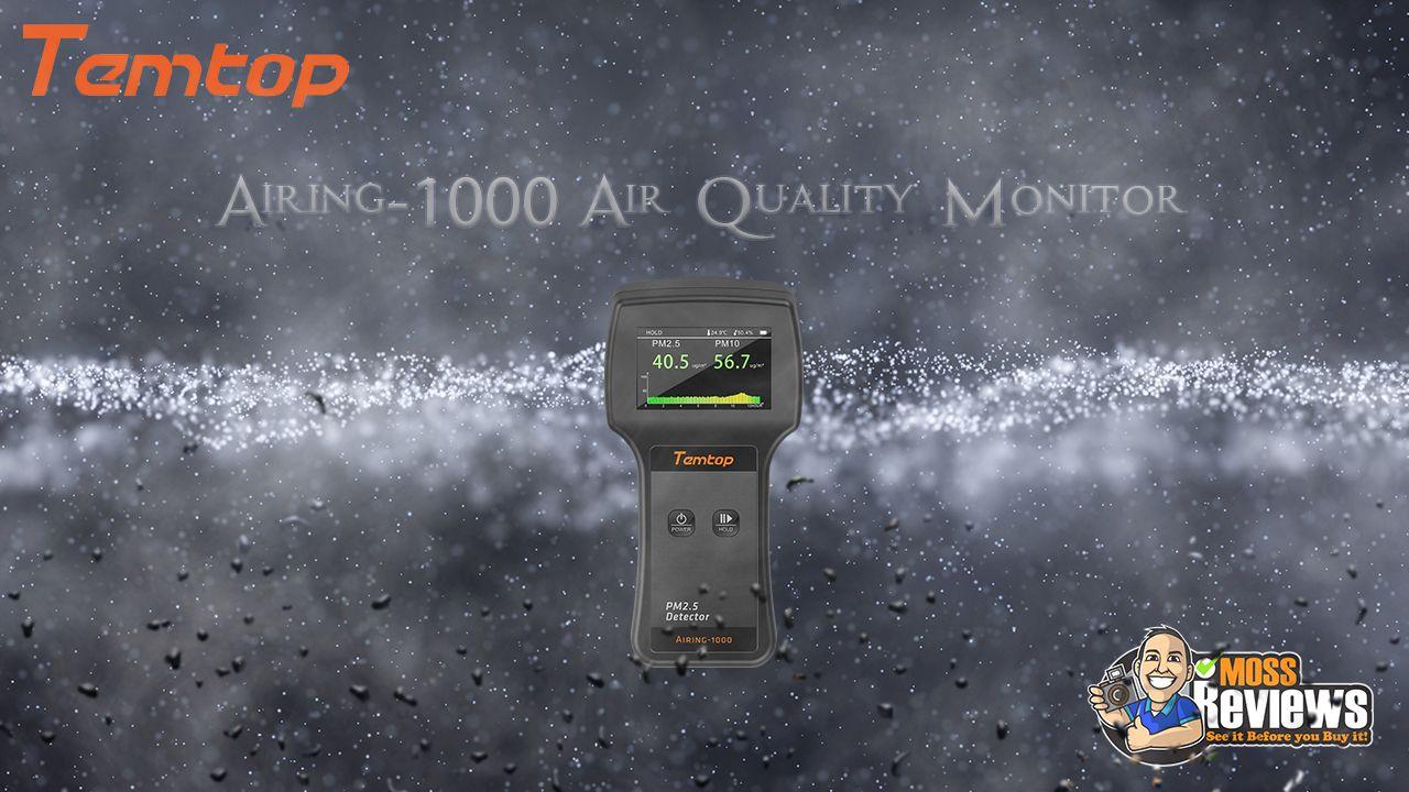 Video of Temtop Airing 1000 Air Quality Monitor Temptop