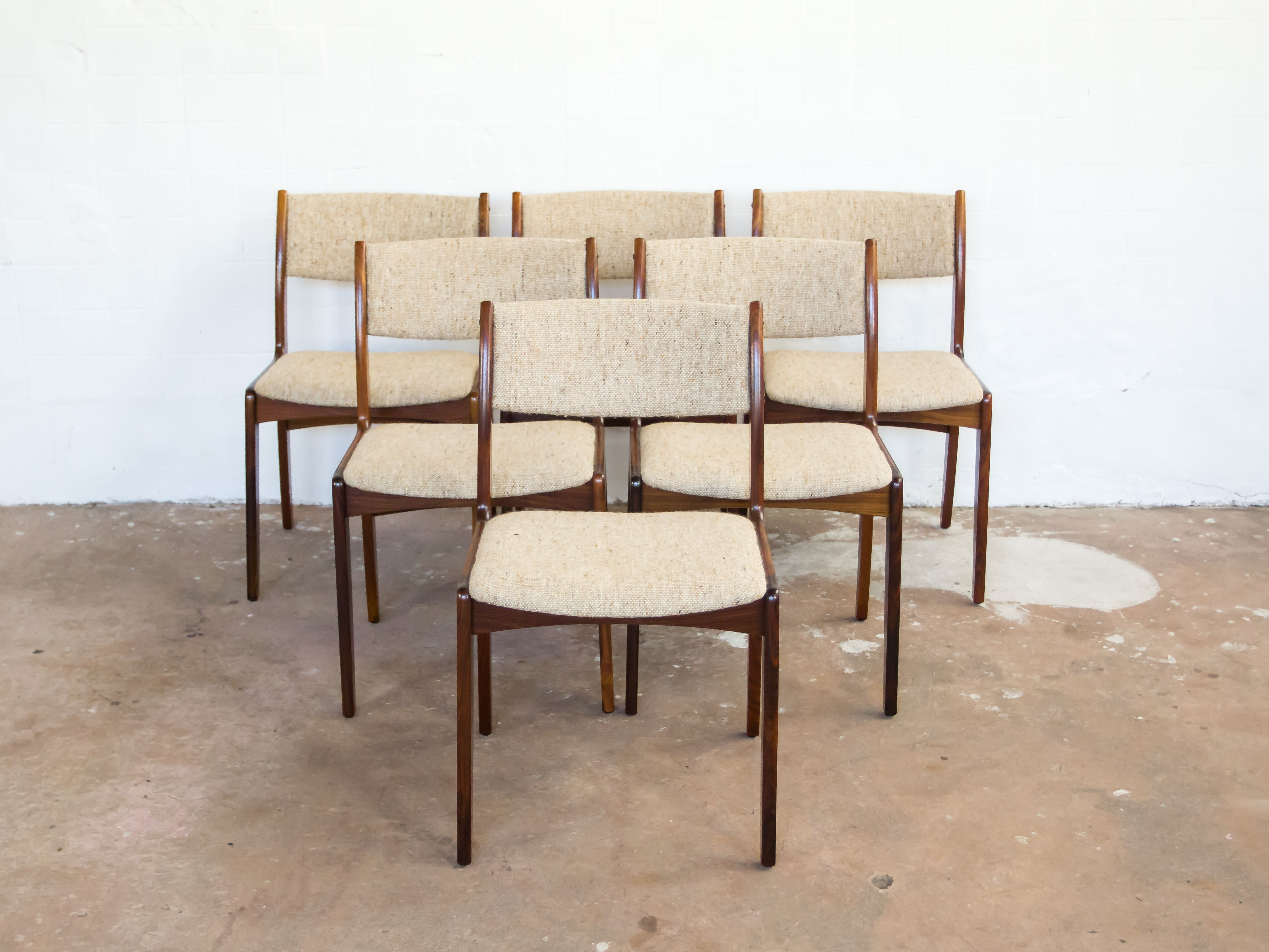 6 chairs in rosewood by Skovby