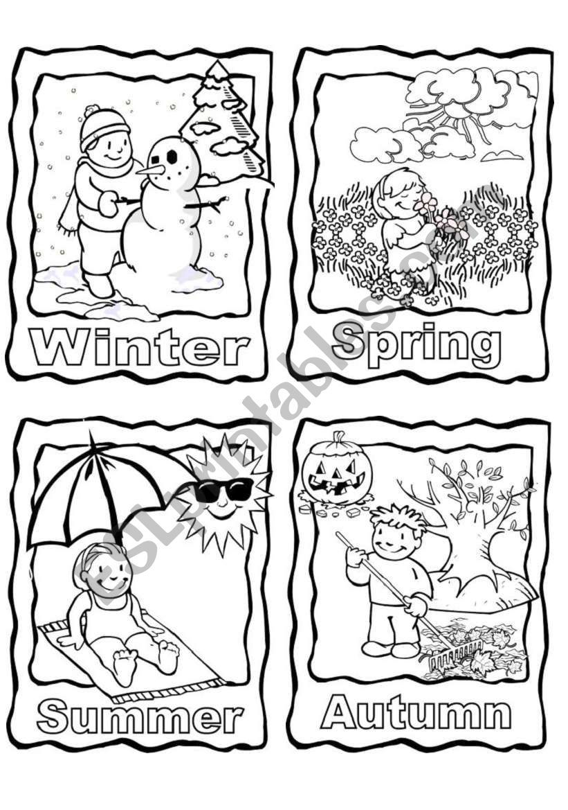 Can Be Used As Flashcards Coloring Pages Or Colour And Enlarge