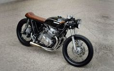 Honda Cb750 Four Cafe Racer By Paal Motorcycles Caferacer Motos