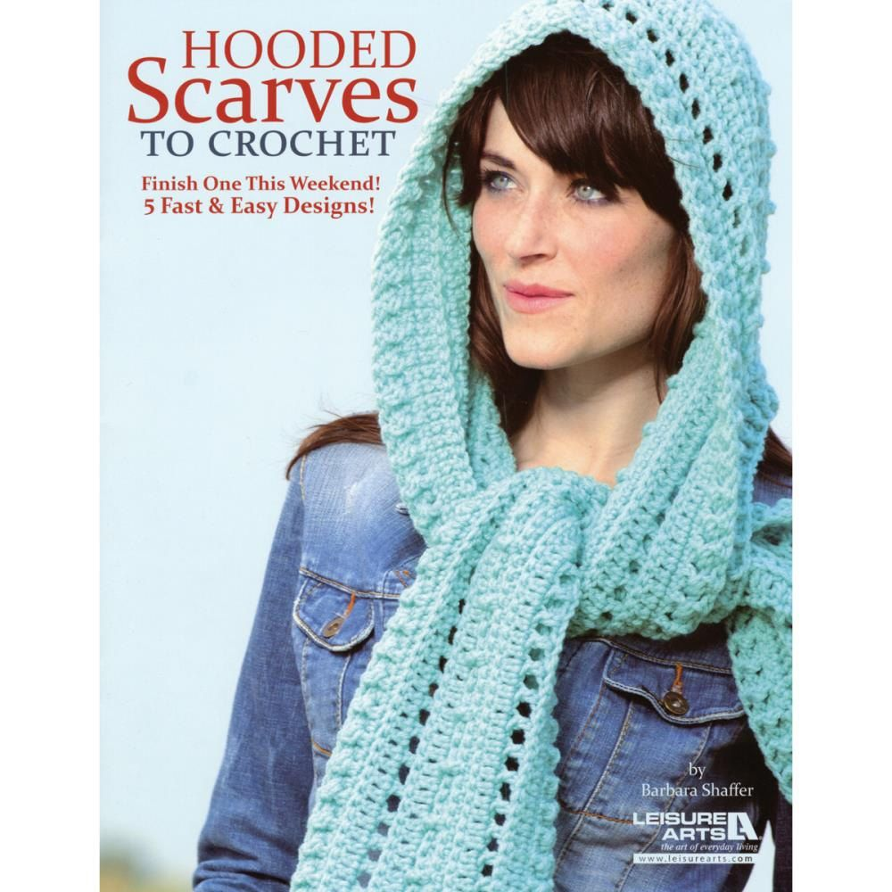 Leisure arts hooded scarves to crochet booklet five fast and easy leisure arts hooded scarves to crochet booklet five fast and easy crochet patterns free crochet scarf bankloansurffo Images