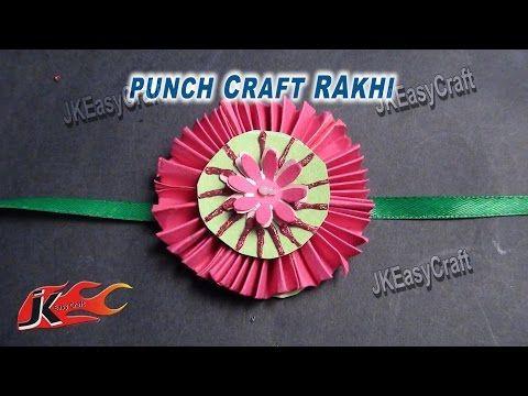 Diy Paper Rakhi For Raksha Bandhan How To Make Jk Easy Craft For Kids 030 Rakhi Making Easy Crafts For Kids Paper Crafts Origami