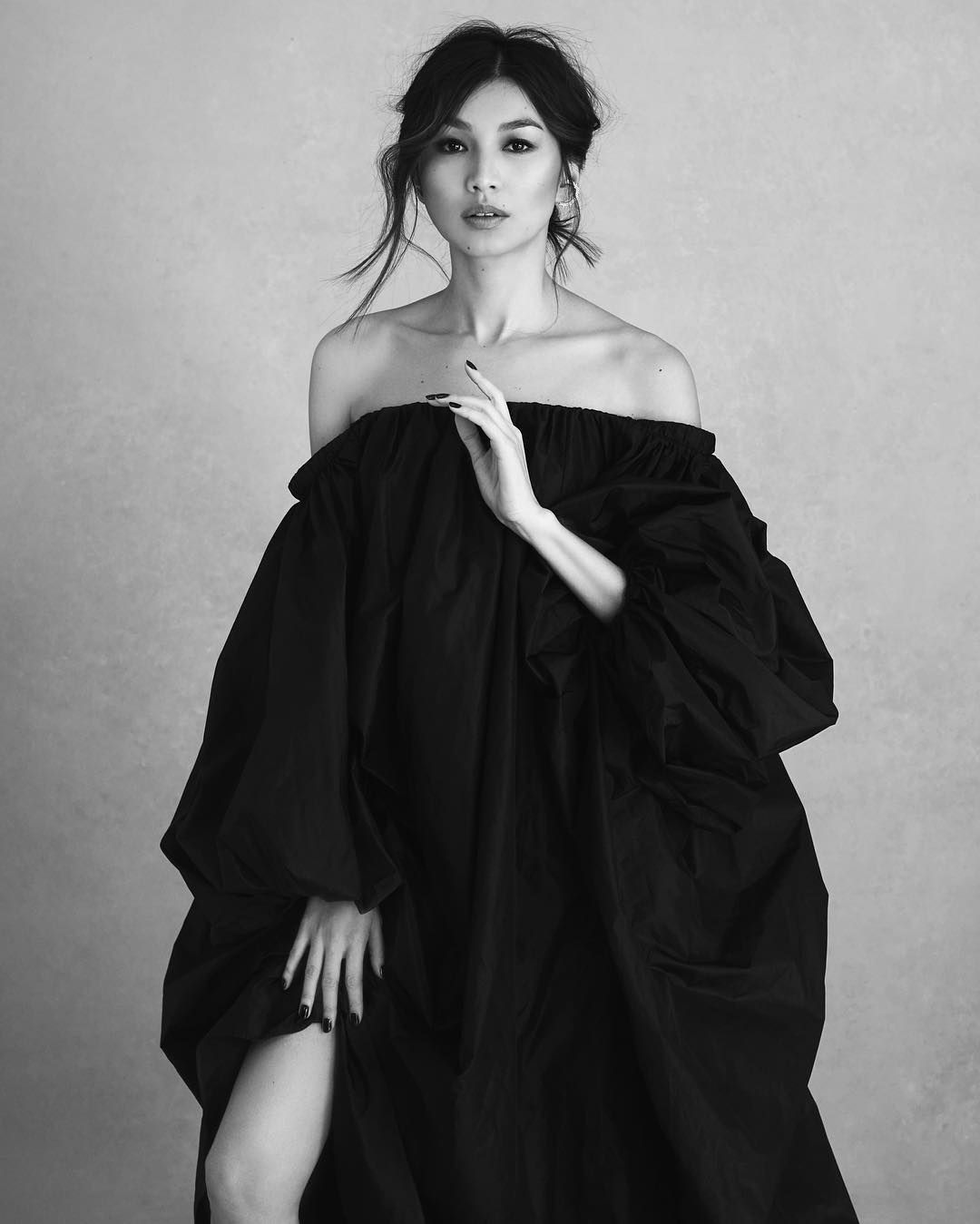 Image result for gemma chan black and white