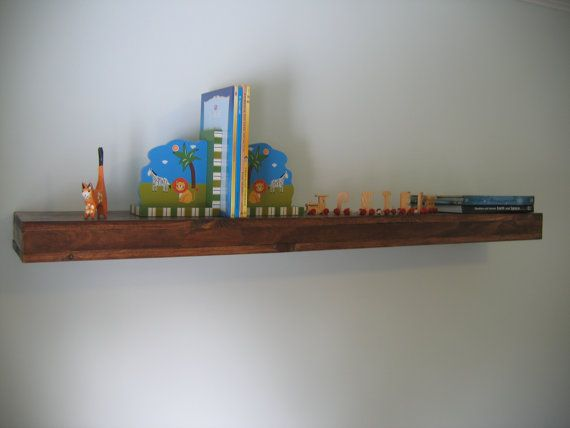 Floating Shelves - 55 Inches Long x 9 Inches Deep - Reclaimed Wood,  Farmhouse Chic - Floating Shelves - 55 Inches Long X 9 Inches Deep - Reclaimed Wood