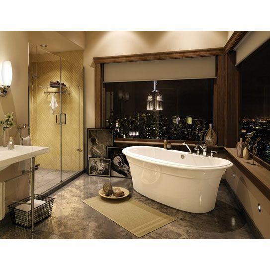 Maax Bath Tub Ella Sleek 6636 | Freestanding Bathtubs | Pinterest ...