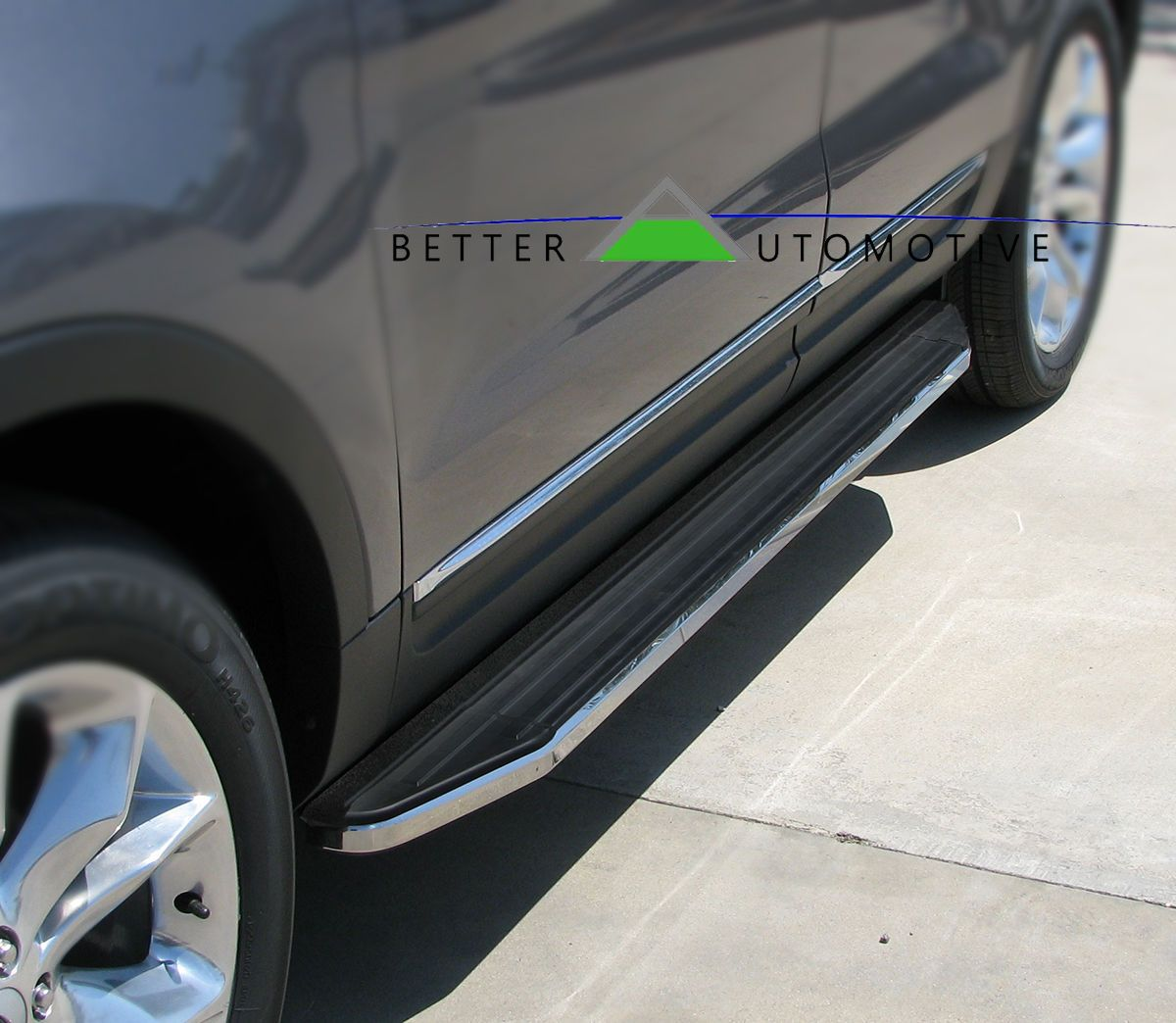 """Nice Great 6"""" Widestep Running Boards Side Step Nerf Bars Black For"""