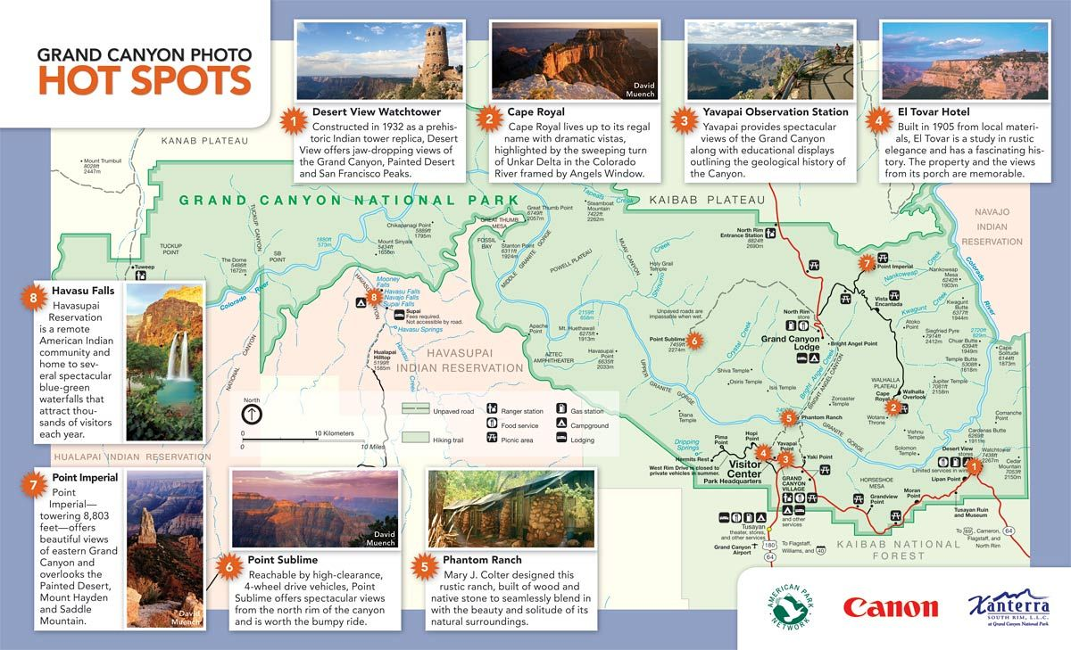 Photo Hotspots For Grand Canyon Trip To Grand Canyon
