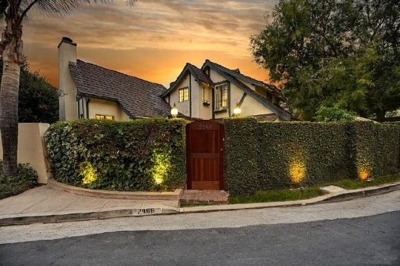 Vintage English Country Estate In The Hollywood Hills Wall Ideas - Vintage country house