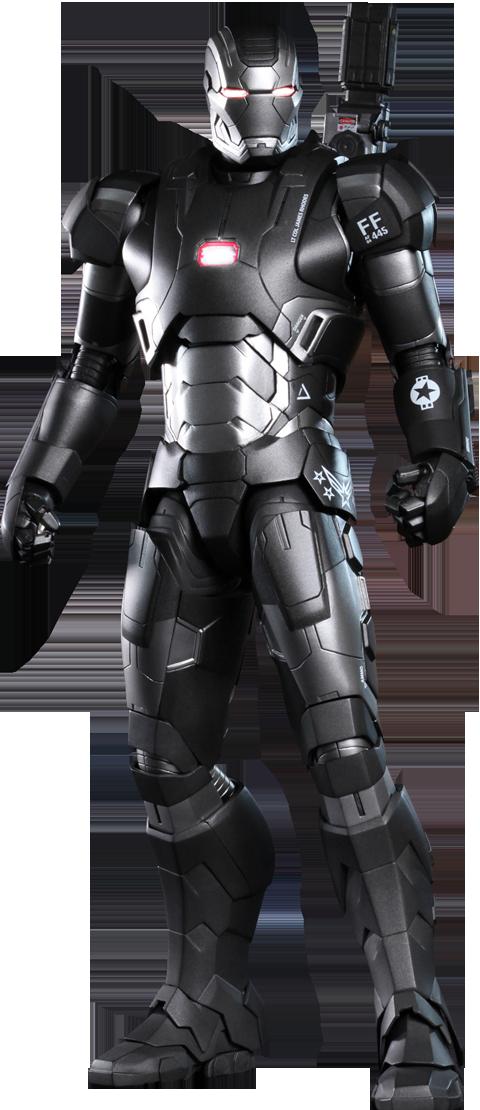 Hot Toys Marvel Iron Man 3 War Machine Mark II Diecast Figure