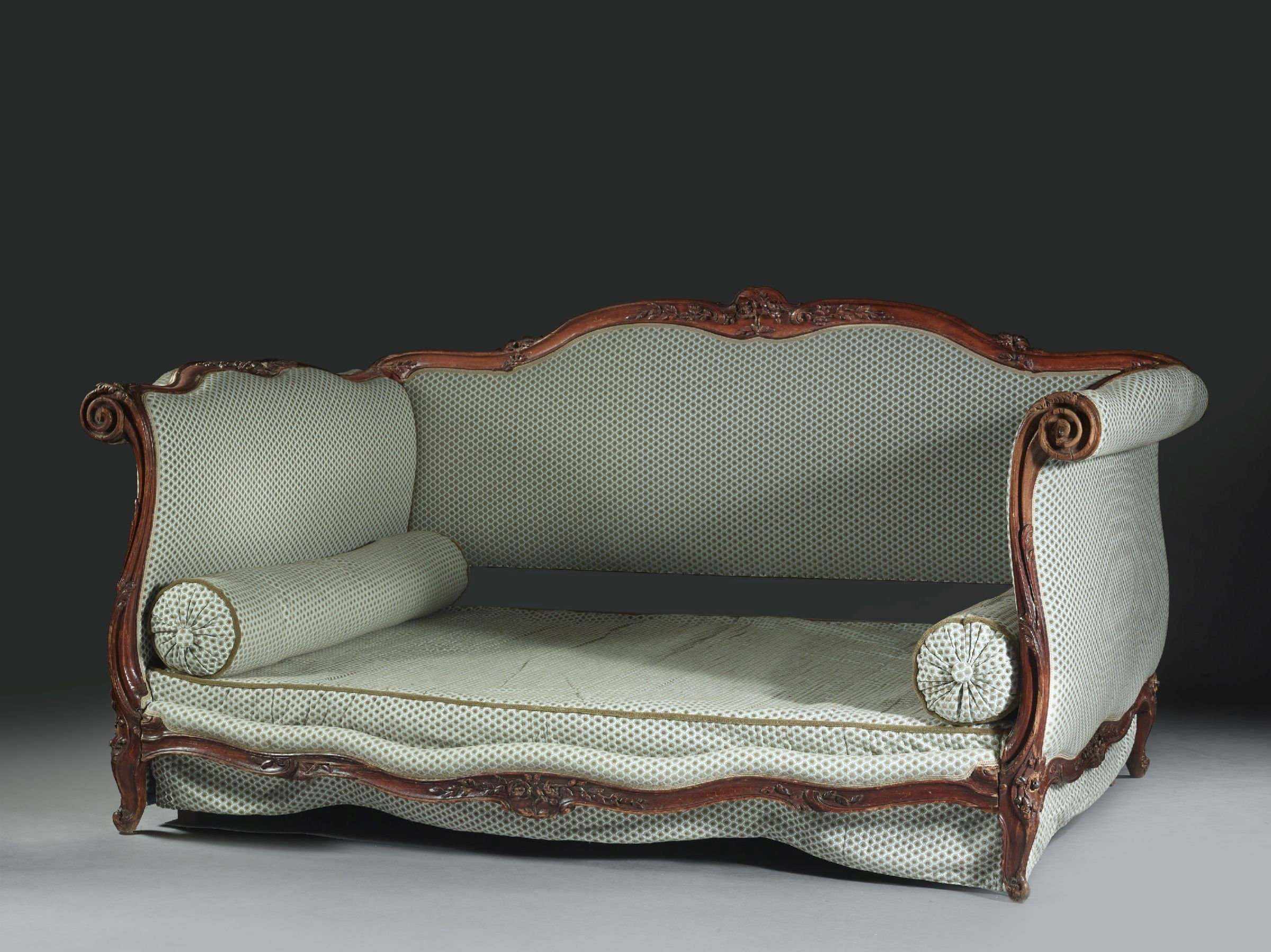 Red Rococo Chaise Lounge Design Pinterest