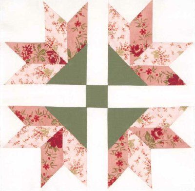 Four Corner Flowers Quilt Block - HowStuffWorks #diy #howto