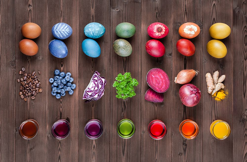 Naturally Dyed Eggs Naturally dyed, Zero waste holiday