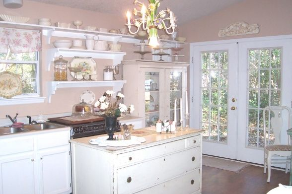 Kitchen Gallery Decorated In Shabby Chic Style And We Hope You Ll Find Some Interesti Chic Kitchen Decor Shabby Chic Kitchen Decor Shabby Chic Kitchen Cabinets