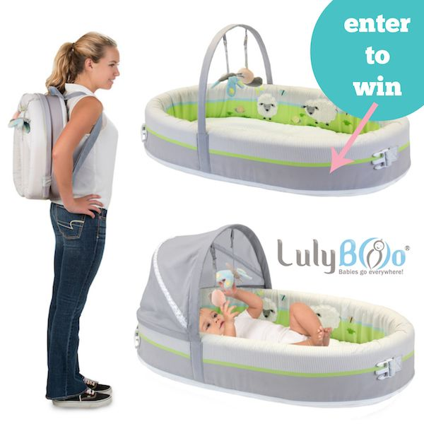 Lulyboo Baby Lounge To Go Premium Travel Bed