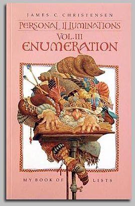 Enumberation Journal Vol Iii By James Christensen Sketchbook