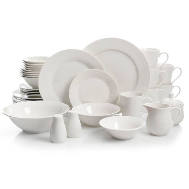 product image for Gibson Amalfa 37-Piece Round Dinnerware Set  sc 1 st  Pinterest : top rated dinnerware sets - pezcame.com