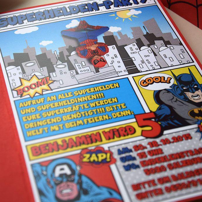 superhelden party beartblog kindergeburtstag pinterest superhelden geburtstage und. Black Bedroom Furniture Sets. Home Design Ideas
