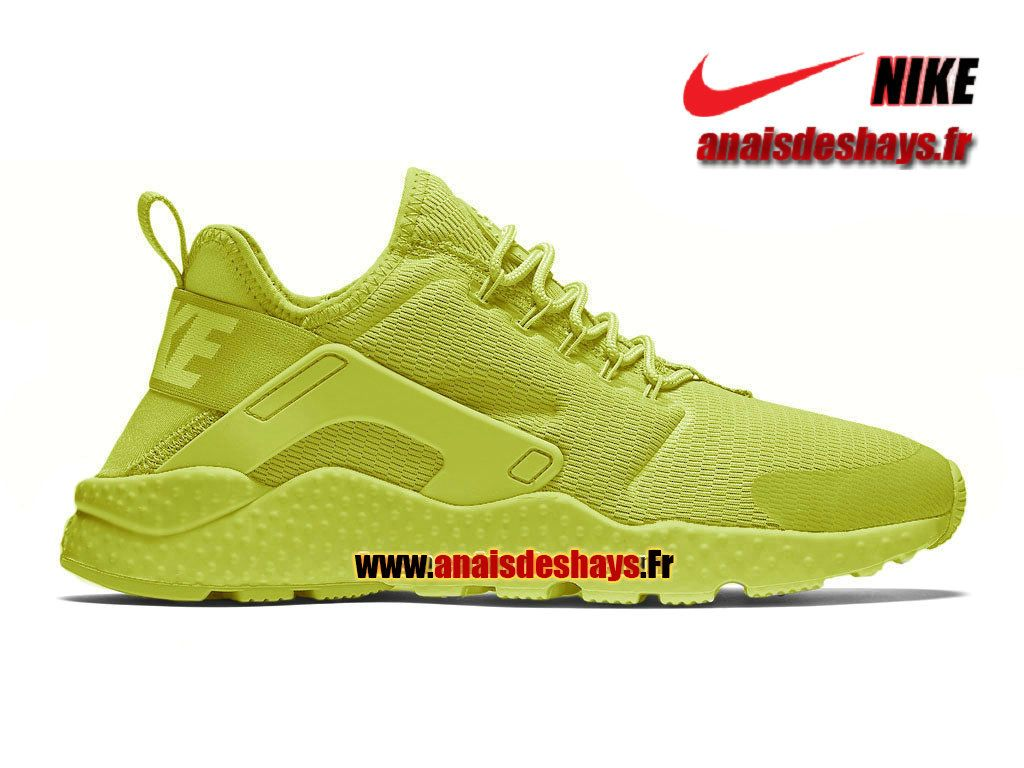 Boutique Officiel Nike Air Huarache Ultra (Nike iD) Homme Vert