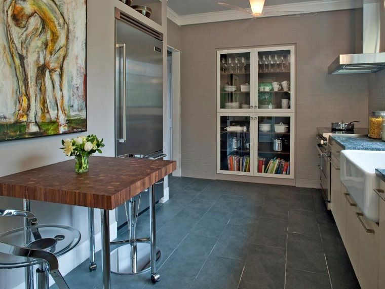 Cocinas pequeñas 50 ideas que impresionan | Cocinas pequenas ...