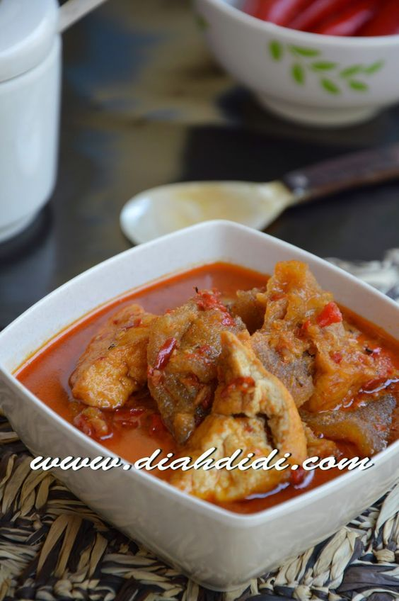 Diah Didi S Kitchen Sambal Goreng Tahu Dan Krecek Kulit Resep Masakan Resep Makanan Korea Dan Masakan Indonesia