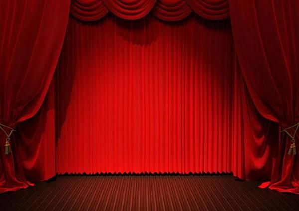 Opened Curtain Backdrop For Stage Photography In 2019