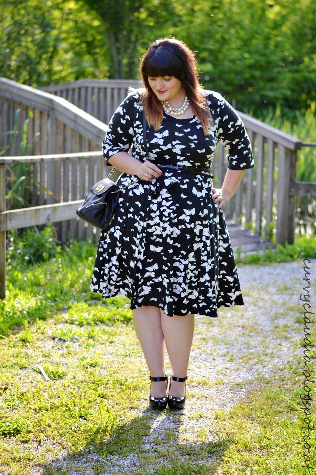 Соблазнительная Клаудия   Coole kleider, Kleid plus größen ...